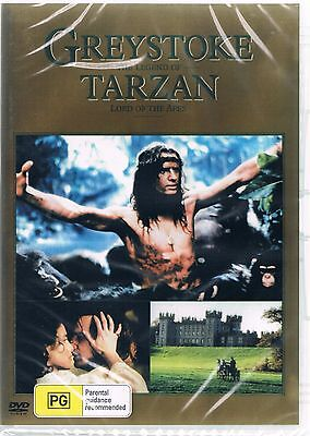 Greystoke: The Legend of Tarzan, Lord of the Apes ( Dvd )  NEW AND SEALED