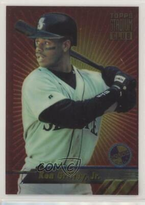 724ad83aa1 1994 Topps Stadium Club Finest #5 Ken Griffey Jr Seattle Mariners Jr. Card