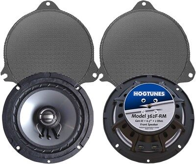 """Hogtunes 6.5"""" Replacement Front Speakers For FLH Models 362F-RM"""
