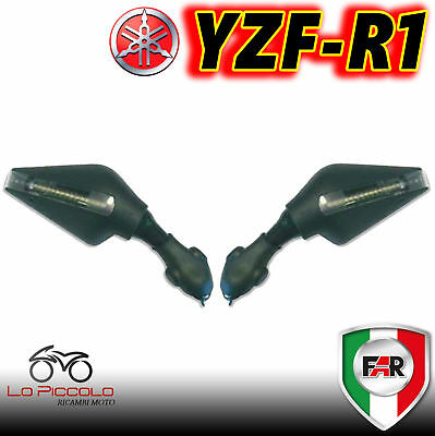 Couple Mirrors Mirror Far Motorcycle Rearview Replacement 7172-7173 Yamaha R1