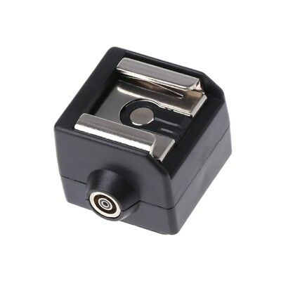 SC-2 Hot Shoe Adapter Converter PC Sync Socket For Nikon Canon Pentax Camera New