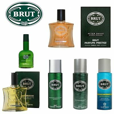 Brut | Aftershave Deodorant Anti Perspirant Eau De Toliette | Full Range