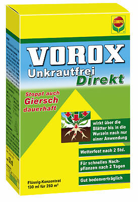(Pro 100 ml) 130 ml Compo Vorox Weed Free Directly gierschfrei