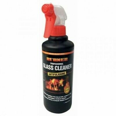 Burner Glass Cleaner Pulitore Professionale per Vetri di Stufe 500 ml