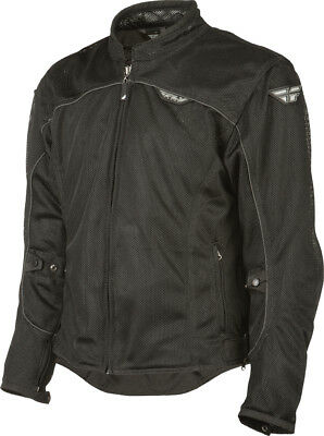 Fly Flux Air Mesh Jacket Black Adult MD