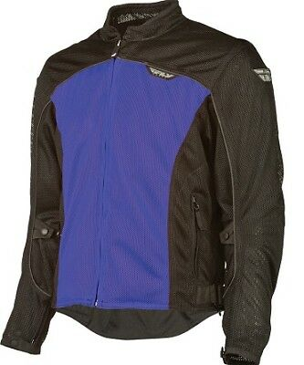 Fly Flux Air Mesh Jacket Blue/Black Adult MD