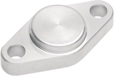 Dura Blue ATV Rear E-Brake Block Off Plate E Brake Silver 92-1001