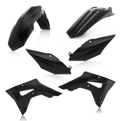 Acerbis Black Plastic Kit For Honda CRF 450 RX 2017 2645460001