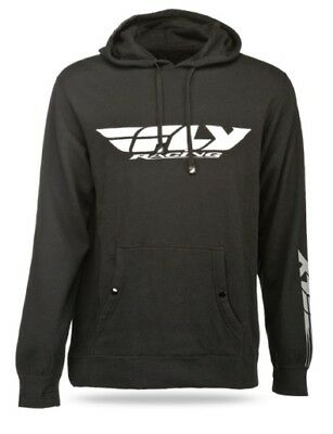 Fly Racing 2014 Adult Hoody Corporate Black Hoodie Size Small SM
