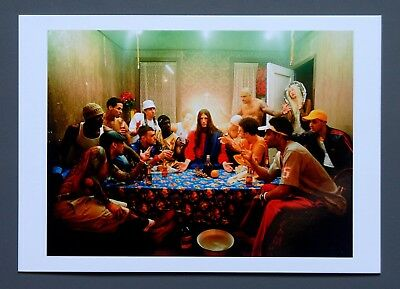 David LaChapelle Limited Ed. Photo 24x17 Das letzte Abendmahl 2003 L'ultima cena