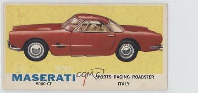 1961 Topps Sports Cars #7.1 Maserati 5000 GT (Gray Back) Non-Sports Card 0s4