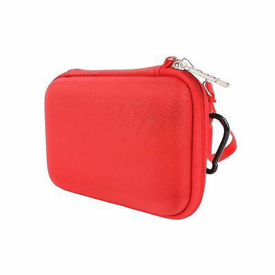 for WD 1 / 2 / 3 / 4 TB Red My Passport Portable External Hard Drive Red Carr...