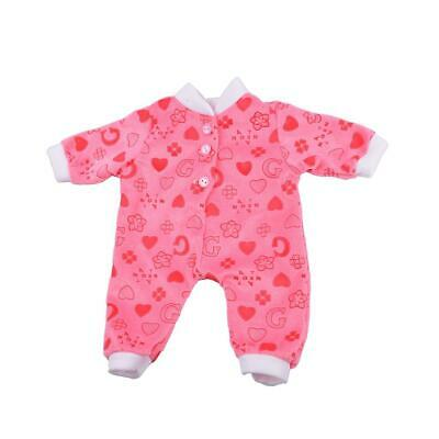 Doll Clothes Outfit- Pajamas Nightwear for 18'' American Doll Dress Up ACCS