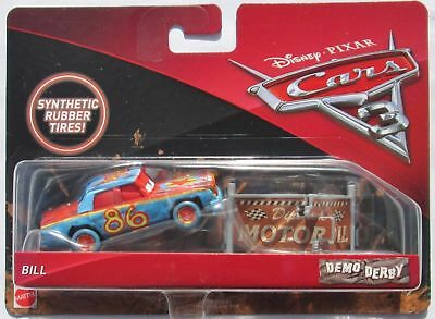 Voiture Disney Pixar Cars 3 Demo Derby Bill Rubber Tires