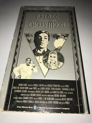 Prince Under The Cherry Moon VHS