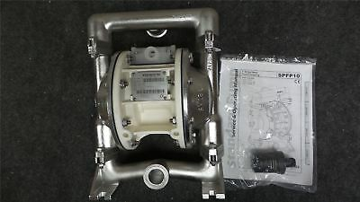 Standard Pump SPFP10PPT 36 Max GPM 100 Mx PSI Air Operated Double Diaphragm Pump