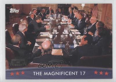 2008 Topps President Obama Collector Trading Cards #75 The Magnificent 17 1x0