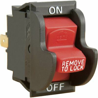 On / Off Safety Switch Locking Toggle 10 amp Shop Fox D4163