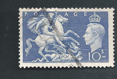 Great Britain Scotts # 288 ,  used, nice coloring,