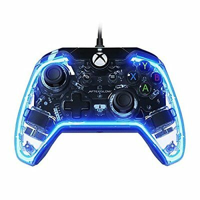 PDP 048-007-NA Afterglow Prismatic Wired Controller for Xbox One - Clear