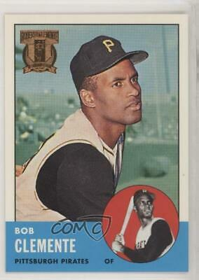 1998 Topps Reprints #9 Roberto Clemente (1963 Topps) Pittsburgh Pirates Card