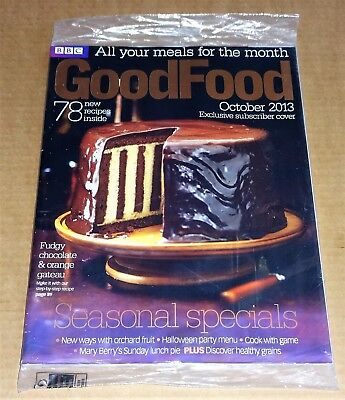 Bbc Good Food Magazine October 2013 (Exclusive Subscriber Cover) New/unopened