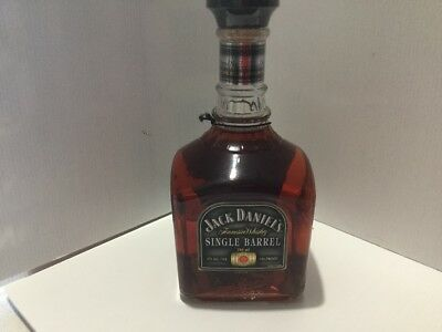 Jack Daniels Ducks single barrel 2007 750ml bottle with legband and hang tag