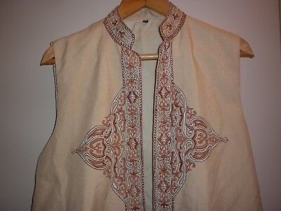 Vintage Exotic  Traditional Tunic  Coat Size Large Exc- Condition