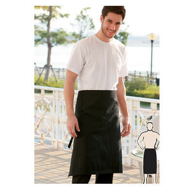 Hospitality 3 Quarter Length Cotton Drill Apron for Waiter Waitress Chef Clean..