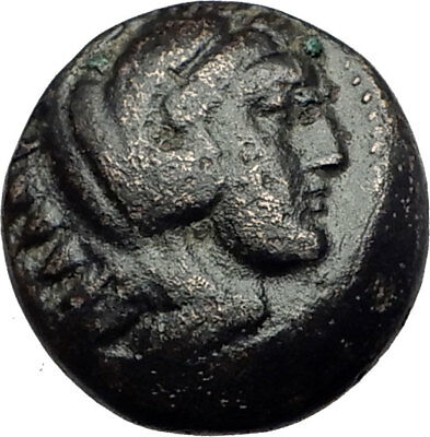 ALEXANDER III the GREAT 336BC Macedonia Ancient Greek Coin HERCULES CLUB i64904