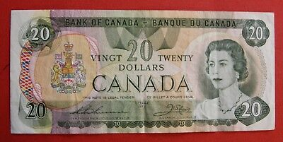 1979 $20 Bank of Canada Thiessen-Crow 52179918924 - 25.95