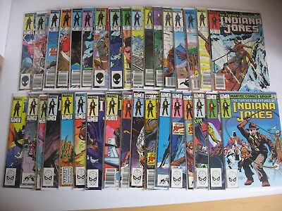 Further Adventures of Indiana Jones #1-34 complete Fine to NM condition
