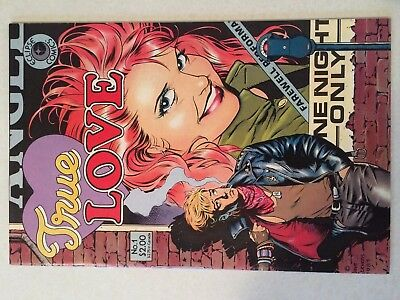 True Love #1 VF/NM condition 1985 Dave Stevens cover art