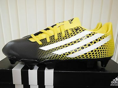 New,  Adidas  Cq  Malice  Sg  Rugby  Boots   Mens  U.k.  Size  8.5