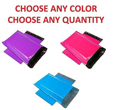"""9x12 Color POLY MAILERS Shipping Envelopes Self Sealing Mailing Bags 9"""" x 12"""""""