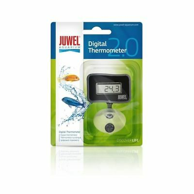 Juwel Digital Aquarium Thermometer 2.0 submersible accurate compact inc battery