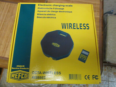 Refco OCTA-WIRELESS Wireless Refrigerant Scale 4686663 Switzerland New