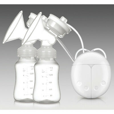 Electric Breast Pump USB Charing Double Automatic Massage Suction Baby Feeder
