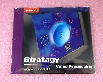 TOSHIBA STRATAGY VOICE PROCESSING ADVISOR & eBROCHURE CD - STILL IN SHRINK WRAP