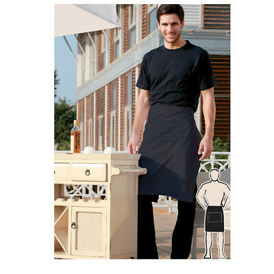 Light Weight 1/2 Half Hospitality Apron W/ Pocket Bar Pub Restaurant Waiter ress