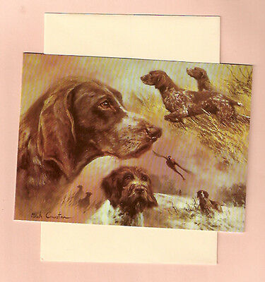 Wire Haired Shorthaired German Pointer Notecards Note Card Mick Cawston Pack5