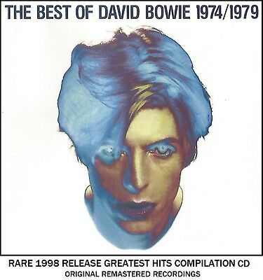 David Bowie Very Best Greatest Hits Collection - RARE 1998 CD 70's Glam Rock Pop