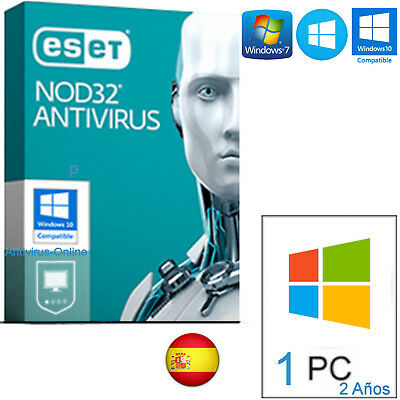 Eset Nod32 Antivirus 10 Pc 3 Years Anni Originale
