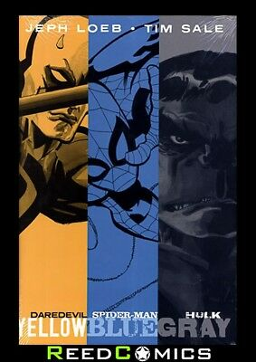 JEPH LOEB AND TIM SALE YELLOW BLUE AND GRAY HARDCOVER New Hardback (504 Pages)