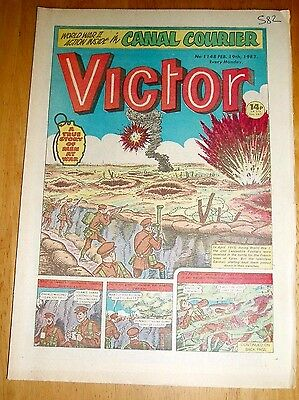 LANCASHIRE FUSILIERS IN YPRES  Pvt LYNN V.C.  WW1 COVER STORY VICTOR COMIC 1983