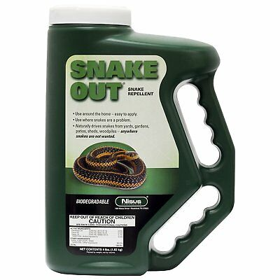Nisus Snake Out Snake Repellent 4 lb container repels 🐍 snakes