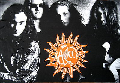 Alice In Chains Flagge Fahne Posterflagge Jar Of Flies Bandpicture