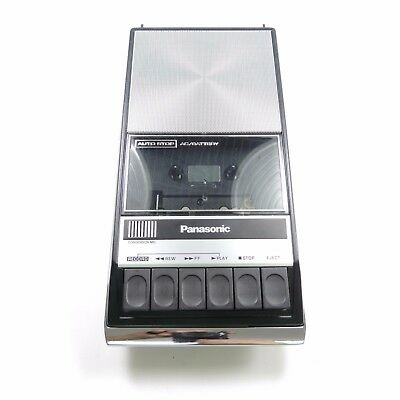 Panasonic Cassette Tape Recorder RQ 309AS Records and Plays TESTED with Box