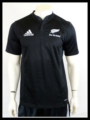 new zealand all blacks rugby shirt large adult adidas. Black Bedroom Furniture Sets. Home Design Ideas