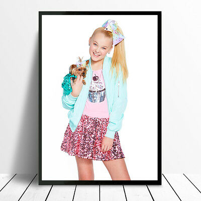 Jojo Siwa Poster A4 Or A3 Size World Wide Shipping Available For £2.50